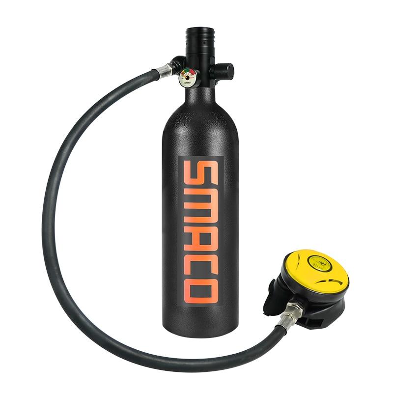 2019 NEW SMACO Diving Equipment S400plus Underwater Respirator 1L Oxygen Bottle Swimming