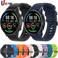 Correa para reloj inteligente Xiaomi Mi, pulsera deportiva de Color de 22mm para Huami Amazfit Gtr 2/ Gtr de 47mm