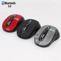 Mouse ótico sem fio bluetooth  mouse ótico 3.0 dpi 6 botões para jogos de computador  pc  escritório  3d mouse para ipad celular laptop