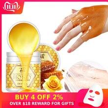Peeling Hand Feet Mask Wax Honey Essence Paraffin Bath Sodium Hyaluronate Moistu