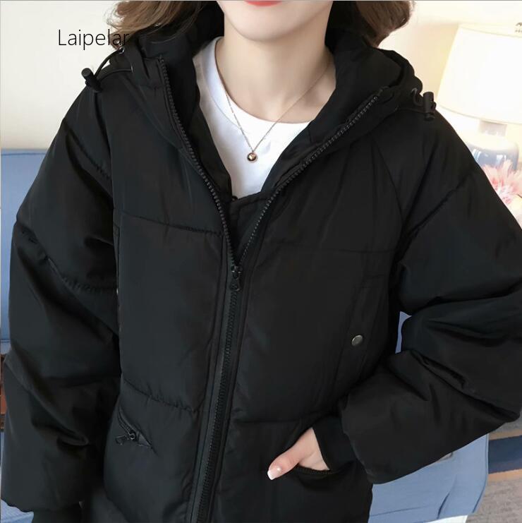 2020 NEW Large Size Wadded Jacket Female Winter Coat Women Thick Hooded Cotton-padded Jacket Outerwear Women's Winter Coat
