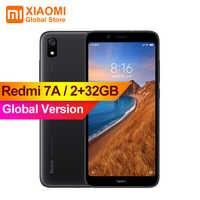 """Version mondiale Original Xiaomi Redmi 7A 7 A 2GB 32GB Smartphone 4000mAh longue durée de vie AI visage déverrouillage Octa Core 5.45 """"téléphone"""