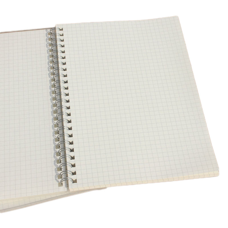 3pcs 50 Sheets Simple Grid Notebook Practical Office School Notepad Creative Drawing Graffiti Book Daily Memos Notebook