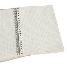 3pcs 50 매 간단한 그리드 노트 실용적인 사무실 학교 메모장 크리 에이 티브 드로잉 낙서 책 일일 메모 노트