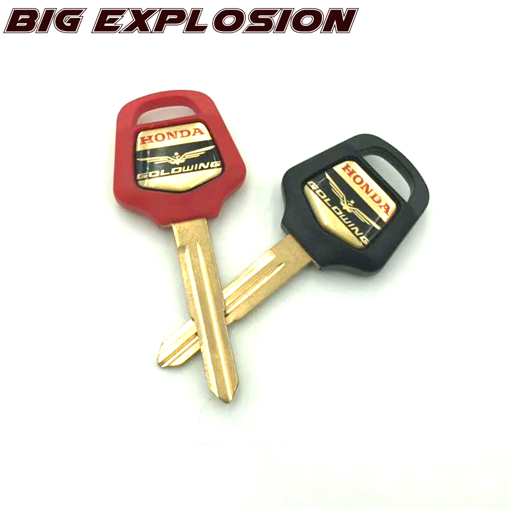 Motorcycle Key Accessories Uncut Blade For HONDA GOLD WING 1500 Gold Wing 1800 GL1800 GL1500 02 03 04 05 06 07 08 09 10 11