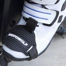Мотоциклетный Ботинок защитный чехол для переключения передач мотоциклетная Мужская обувь защитный переключатель передач мотоцикла