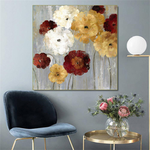 Laeacco Canvas Calligraphy Printing Spring Blooming Flowers Posters and Prints Modern Home Decoration Living Room Decor Picture
