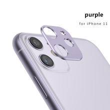Металлический защитный чехол для объектива мобильного телефона для iPhone 11 Pro Max, защита для объективов камеры, бампер, кольцо, чехол, задняя крышка для смартфона