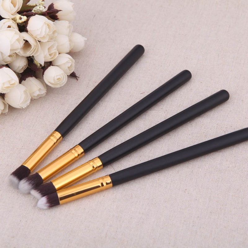 Foundation-Mascara Pencil-Brush Eyeshadow Blending High-Quality Dhl by Or Ems 4pcs/Set