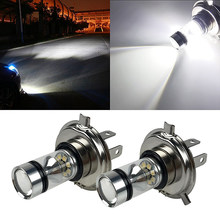 Bostar 2pc baixo consumo de alta potência led lâmpada farol/foglight longa vida h4 h7 h8 h11 9005/9006 6000k 100w 1000lm luz branca