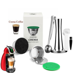 Capsule Baskets COFFEE-FILTERS Dolce Gusto Icafilas Reusable Nescafe Pod Lumio-Cup Stainless-Steel
