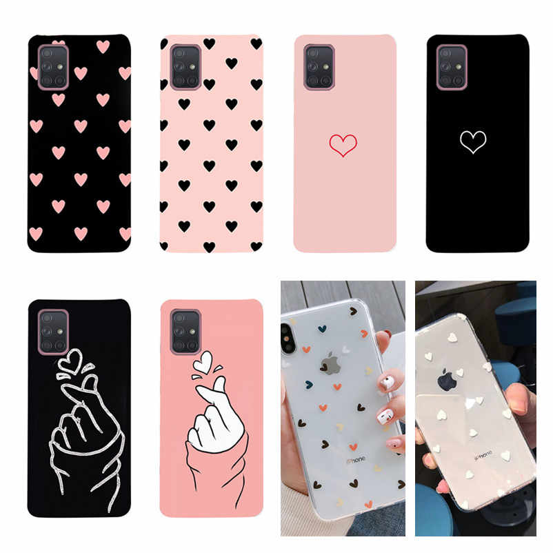 Do Samsung Galaxy A51 A 51 A71 etui silikonowe etui na tył do Samsung A51 A71 S20 Ultra Plus A11 A01 etui A 71 okładka Coque