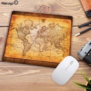 Image 5 - Mairuige Grande Promozione Del Computer Mouse Pad con di Piccola Dimensione 180X220X2MM Mappa Del Mondo Stampe PC Tappetino Mouse Liscio Morbido Anti Slip