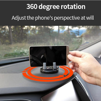 Car Dashboard Mobile Phone Stand Mount GPS Holder for audi a4 b5 megane 3 tucson renault clio 2 alfa romeo 159 audi q7 megane 2 image