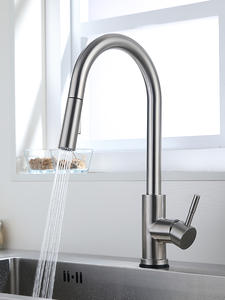 Kitchen Faucets Sensor Mixer Crane Water-Tap Rotate-Touch Sink for KH-1005