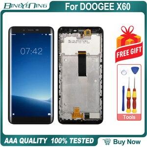 Image 3 - Hohe Qualität Für DOOGEE X60 LCD & touchscreen Digitizer mit rahmen display Screen modul Reparatur Ersatz Zubehör Teile