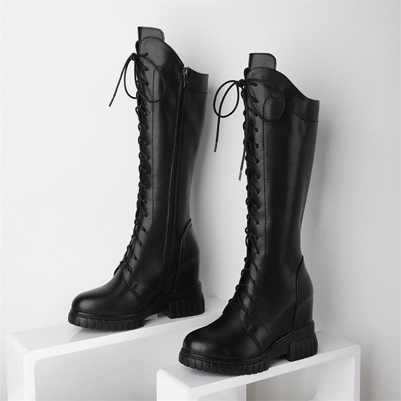 Купить туфли лодочки женские черные на шнуровке телячья кожа высокий