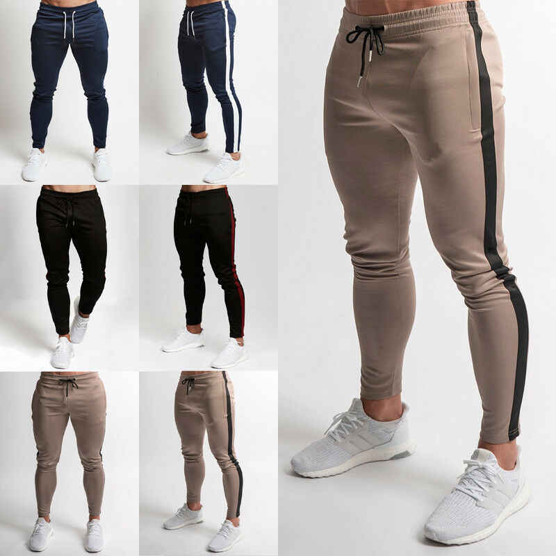 Men Pants Slim Fit Sports Running Sweatpants Men's Pants Sweat Sport Jogging Pants Vq Fitness Pants For Man Joggers Skinny