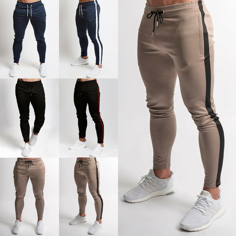 Men Pants Slim Fit Sports Running Sweatpants Men's Pants Sweat Sport Jogging Pants Vq Fitness Pants For Man Joggers Skinny