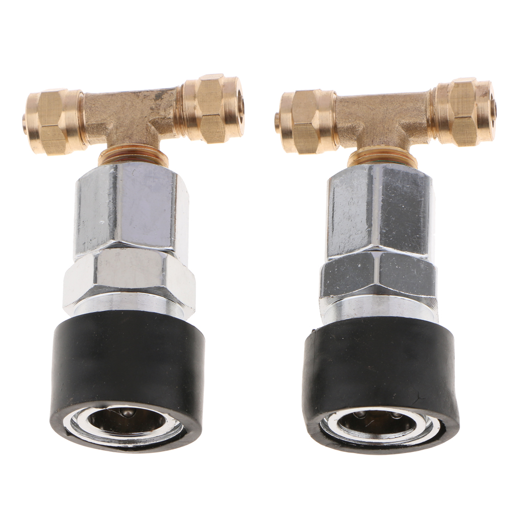 Pneumatic Connectors Straight Air Fittings for Tube 6mm Hotend Extruder Joint Part