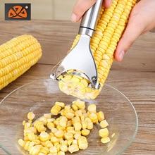 304 stainless steel household corn peeler planing thresher granules creative kitchen gadgets