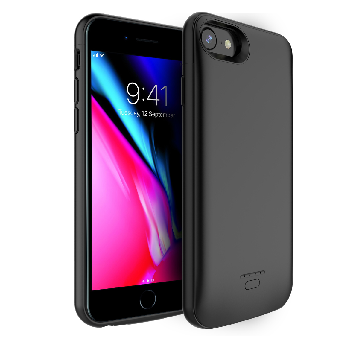 For <font><b>iPhone</b></font> 11 11 Pro 11 Pro Max 5 <font><b>5S</b></font> SE 5SE 6 6s 7 8 Plus Xr X Xs Max <font><b>Battery</b></font> Charger <font><b>Case</b></font> 4000mAh Power Bank <font><b>Battery</b></font> <font><b>Case</b></font> Coque image