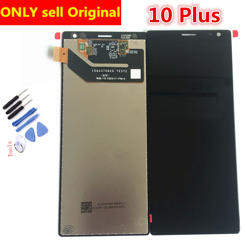 6.5inch For Sony Xperia 10 Display For Sony Xperia 10 Plus LCD Screen Touch Digitizer Assembly Original New Tested Lcd Pantalla