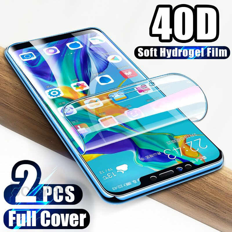 40D Screen protector For Huawei P30 Pro P20 Lite Pro P Smart Plus  Hydrogel Film For Huawei Mate 20 Lite Mate 10 Pro Soft Film
