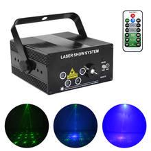 Мини rgb лазерный сценический светильник для прожектора s led