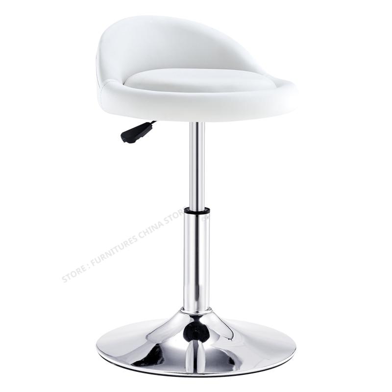 Commecial  Modern Bar Stool  Chair Lift Seat  Beauty Salon Furniture Make Up Chair Tabouret De Bar