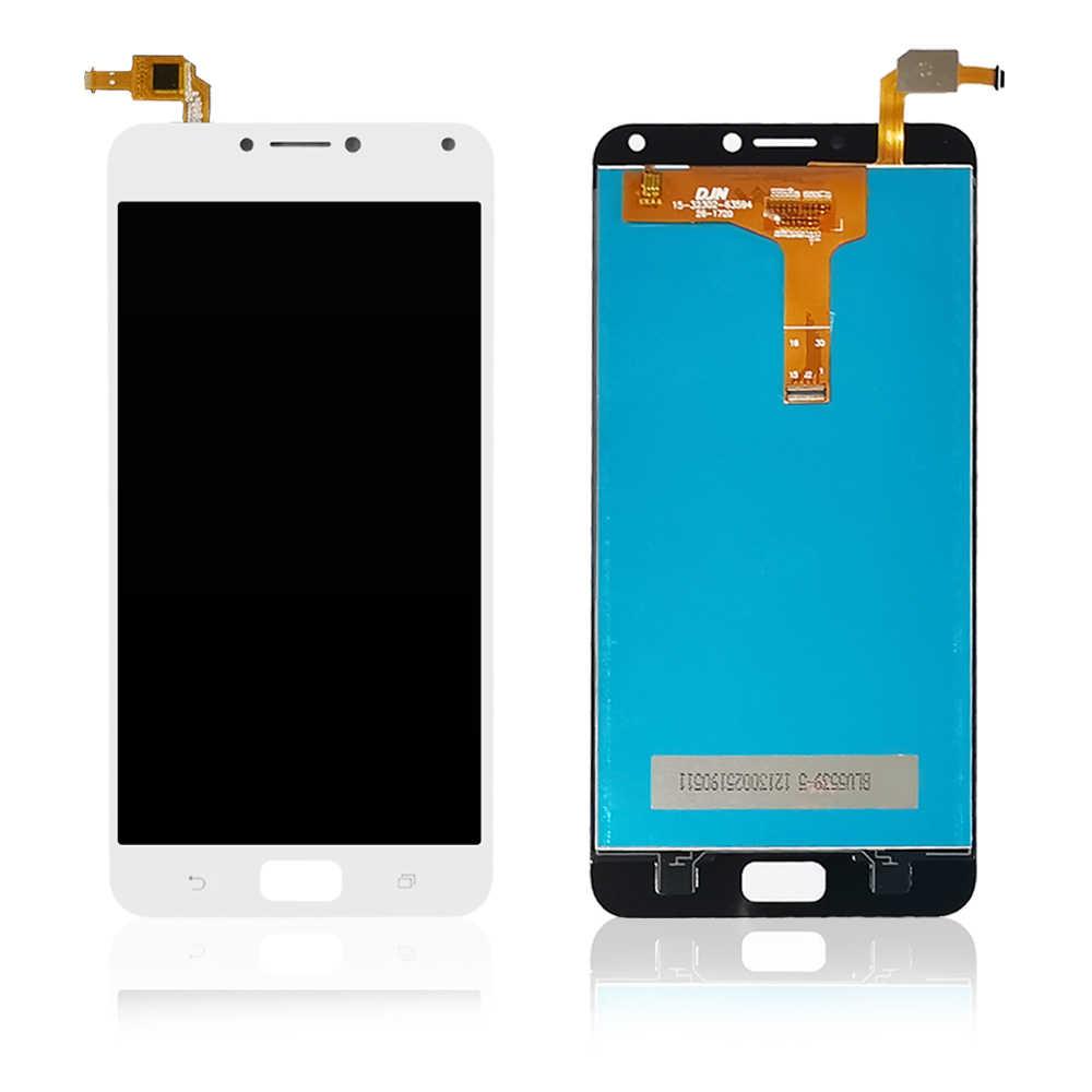 FSTGWAY ل Asus Zenfone 4 ماكس ZC554KL شاشة الكريستال السائل شاشة تعمل باللمس 100% اختبار محول الأرقام الجمعية استبدال الملحقات أدوات