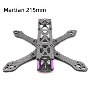Image 1 - TCMM طائرة بدون طيار FPV طقم إطارات Martian 215 قاعدة العجلات 215 مللي متر 4 مللي متر الذراع ألياف الكربون ل RC الطائرة بدون طيار FPV سباق طقم إطارات