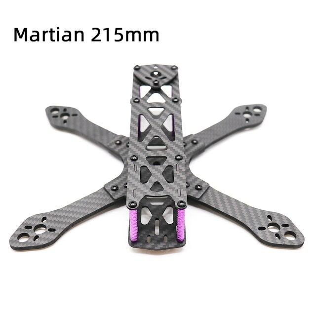 TCMM طائرة بدون طيار FPV طقم إطارات Martian 215 قاعدة العجلات 215 مللي متر 4 مللي متر الذراع ألياف الكربون ل RC الطائرة بدون طيار FPV سباق طقم إطارات