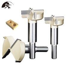 цена на Forstner Drill bit 55mm Tips Woodworking Tools Opener Hole Saw Cutter Hinge Boring Drill Bits
