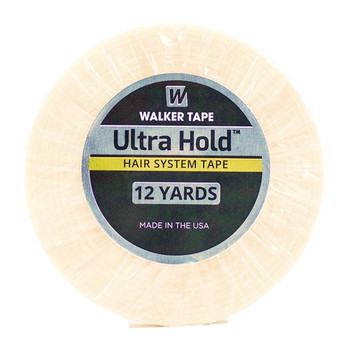 12 yards ultra hold Wholesale Lace front support strong double tape for toupees or wigs walker tape 36pc lot lace front support high quality strong double tape for toupees wig adhesive tape walker tape