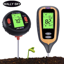 4 In 1/5 In 1 Digital PH Meter Soil PH Moisture Temperature Sunlight Tester Tool with LCD Display For Gardening Plants Farming