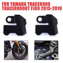 Motocykl ABS pokrywa czujnika przednia osłona tylnego koła Protector dla YAMAHA TRACER 900 TRACER900 GT 900GT FJ09 FJ 09 2015 #8211 2019 tanie tanio CN (pochodzenie) For YAMAHA TRACER900 TRACER900GT FJ09 2015-2019 stainless steel Obejmuje listew ozdobnych