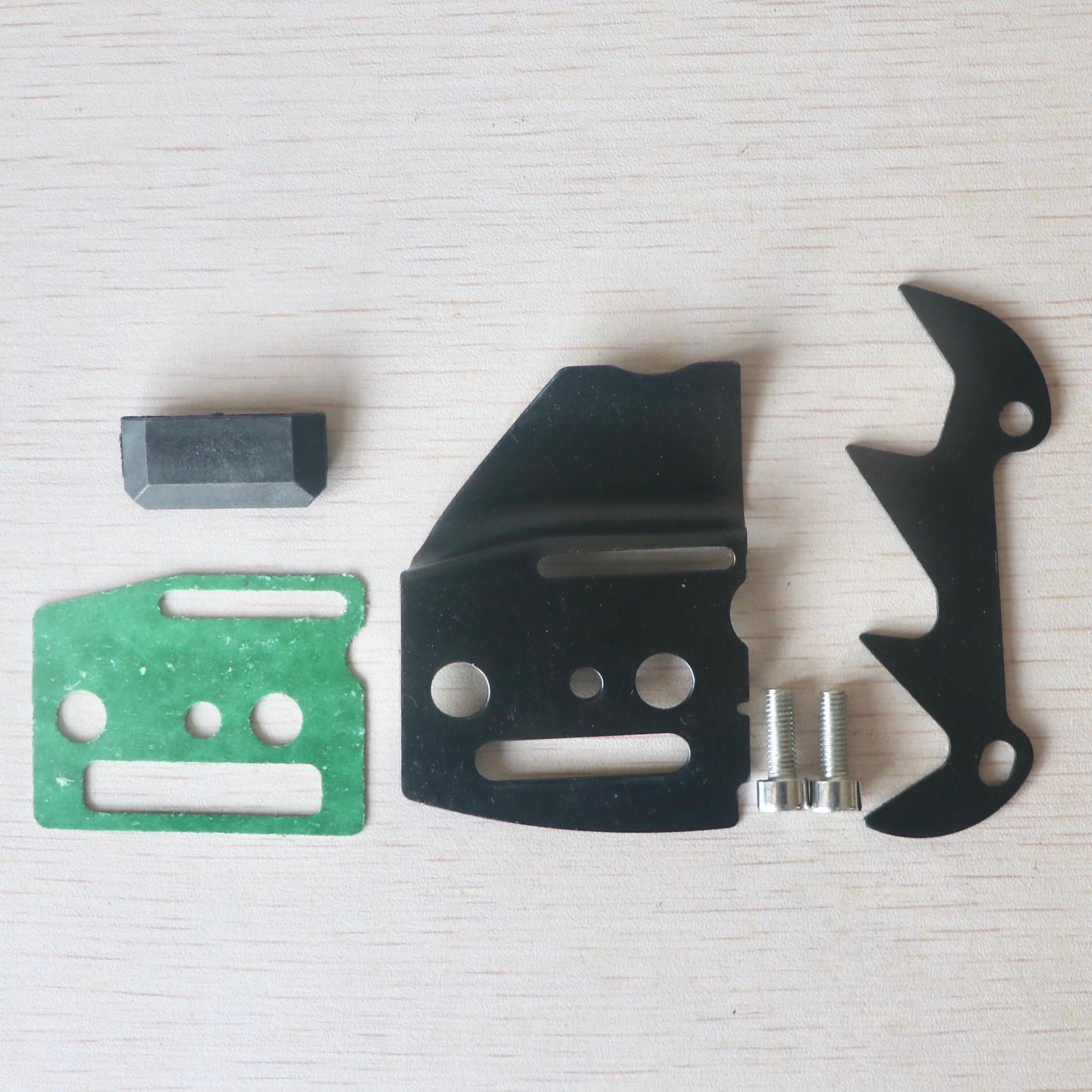 Bumper & Bolt Crankshaft Left Clip & Gasket & Guide Set For Chinese 45CC 52CC 58CC 4500 5200 5800 Chainsaw