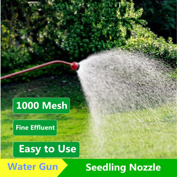 Gardening Sprinkler Nursery Watering Nozzle 60cm Long Rod Spray Gun Watering Vegetables Agricultural Greenhouse Nursery Garden 4 points alloy nozzle automatic rotation lawn watering gardening watering cooling agricultural spray irrigation