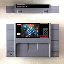 Super Turrican or Super Turrican 2   Action Game Card US Version English Language