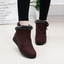 Snowboarding Skiing Shoes Women Winter Shoes Women #8217 s Ankle Boots Sport Flat Warm Woman Snow Boots Thick Plush Skiing Shoes cheap hengsong Winter2017 Fits true to size take your normal size Beginner polyester women s boots Fashion Boots female boots