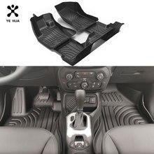 Tapis de Sol Auto Pour Jeep Renegade (BU) Accessoires Personnalisé Noir Imperméable À Leau Durable Tapis Détails Intérieurs Voiture produit 15 21