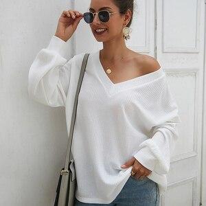 2020 новый женский свитер для беременных, осенний зимний свободный свитер с длинным рукавом и открытыми плечами, Женский пуловер для беременн...