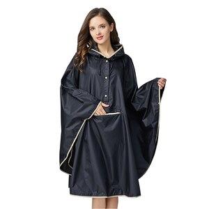 Image 1 - 1PC good quality waterproof emergency rain coat women windbreaker hooded men rain capes ponchos