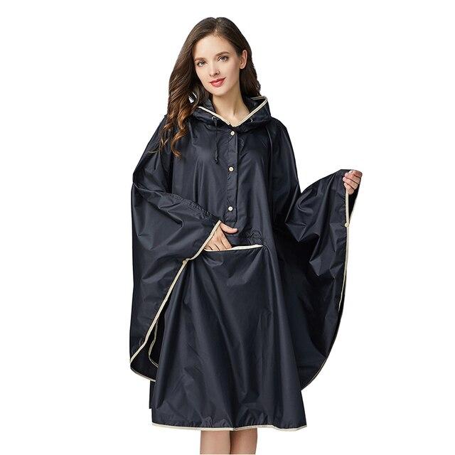 1PC good quality waterproof emergency rain coat women windbreaker hooded men rain capes ponchos