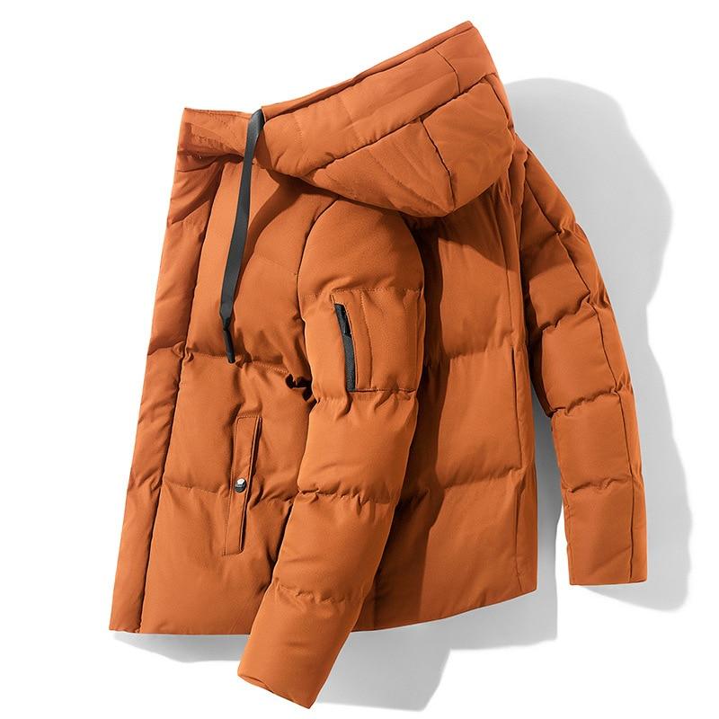 New Winter Jackets Parka Men Autumn Quality Warm Hooded Outwear Brand Slim Mens Coats Casual Windbreaker Jackets Men