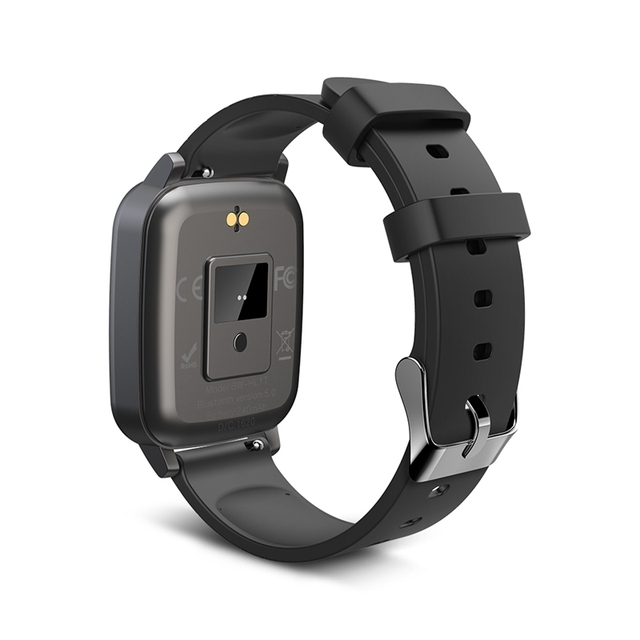 BlitzWolf BW-HL1T Smart Watch Heart Rate Themometer Training Smarwatch 4