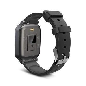 Image 4 - [מדידת טמפרטורת גוף] BlitzWolf BW HL1T Relogio Inteligentes שעון חכם 2020 inteligentes שעונים אימונים אוטומטיים של קצב לב אימוני נשימה תצוגת מזג אוויר שעונים לילדים גברים נשים