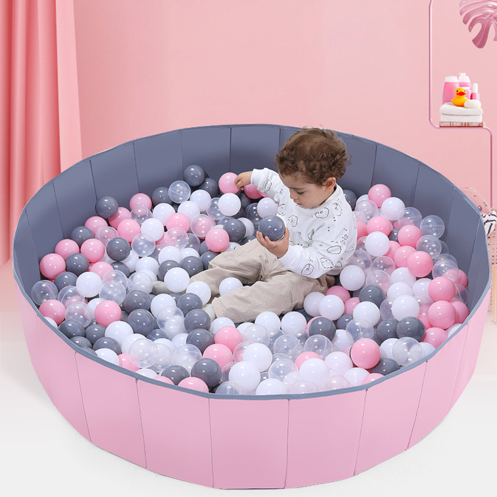 Baby Ocean Ball Pool Pit Washable Folding Fence Kids Room Decor Toy Outdoor Door Swim Pit Toddlers Games Room Decor Ball Pools