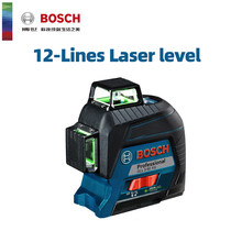 Bosch Laser Level 12-Line Green Laser Leveling Projection Line For Home Decoration Laser Level Outdoor Available Without Toolbox